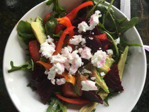 chickweed salad