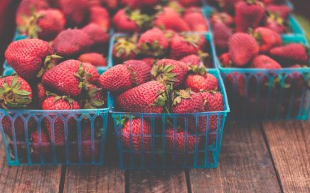 Strawberries - Photo by Jessica Ruscello on Unsplash