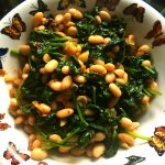 White Beans with Spinach and Sage