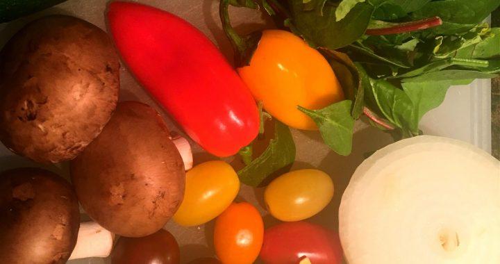 One-Pot Veggie Ravioli